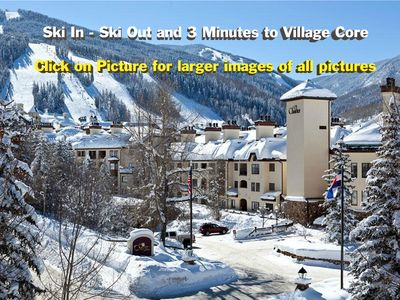 Photo for 5 Star Ski In/Out Charter Beaver Creek 2 Bdm  Mtn Views Gym Pools Hot Tubs Spa