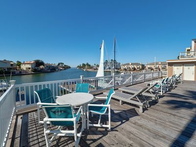 Photo for Unique 3/2 Waterfront condo at a great price!