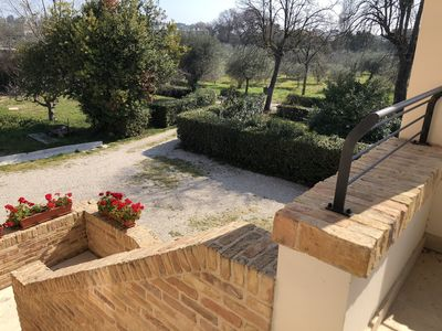 Photo for Celeste Apartment, 300 meters from the sea in a completely renovated farmhouse