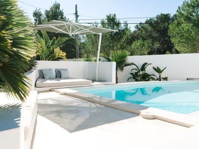 Photo for Exclusive and stylish villa with close access to the water &  Cala Bassa beach