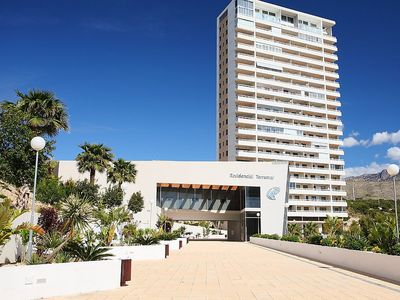 Photo for Apartment 1.3 km from the center of Benidorm with Internet, Pool, Lift, Terrace (106343)