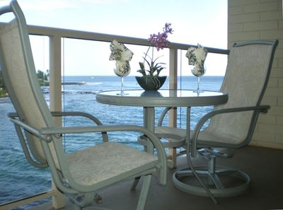 Relish in special moments on private lanai overlooking ocean