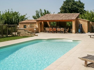 Photo for Gîtes of character, with private terrace, tennis and heated swimming pool, 4/5 pers