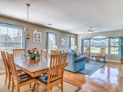 Photo for Spacious and Beautiful Condo overlooking Pond and 4th Hole