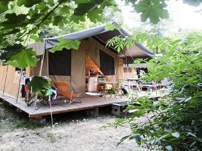 Photo for Camping Huttopia Divonne *** - Sweet Tooth Tent 3 Rooms 5 People