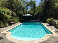 A comfy, well equipped property. Great for entertaining. Lovely pool. Responsive personable owner.