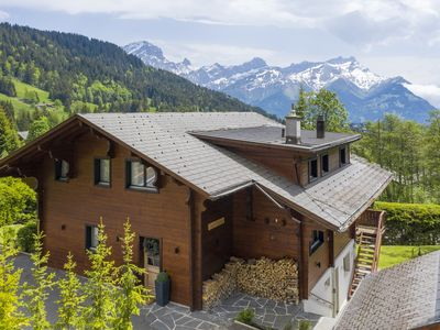 Photo for ** LUXURY CHALET CENTRAL VILLARS - SLEEPS UP TO 12**