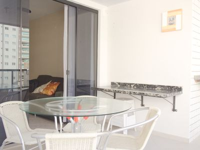Photo for Apartment in Meia Praia 200m from the Sea