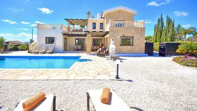 Photo for Villa in Coral Bay, Paphos, Cyprus - Highly Luxurious Villa Within A Short Walk To All Amenities