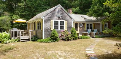 Photo for Quaint Cottage Style Home by Lake Wequaquet Steps to Private Association Beach