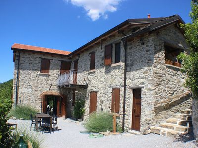 Photo for Casa Barbabella; spacious, comfortable and attractive holiday home in Piedmont / Liguria