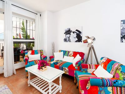 Photo for Fantastic Apartment with Shared Pool (available July and August) - Apartment de Cine