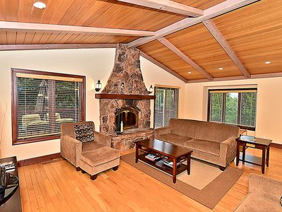 Photo for Exquisite Dog Friendly 5br, 4.5ba Home with Hot Tub on North Shore of Lake Tahoe!