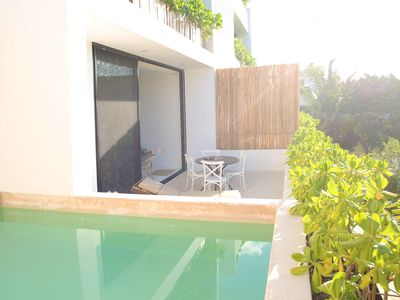 Photo for #Tulumeando CASA ROSA★Jungle★Own Pool★BALCONY