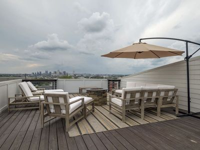 Photo for F1) BRAND NEW Home - Downtown - Huge Rooftop Deck