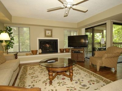 Photo for 3 bedroom/ 3-bath Fazio townhouse located in Palmetto Dunes, close to the beach and pool!