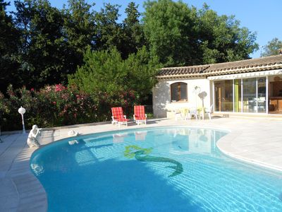 Photo for Between Monaco and Cannes 2-room villa with private pool quiet