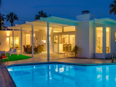 Photo for For The Record - A Mid Mod Pool Home for Music Lovers
