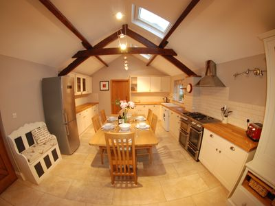 Photo for 4 bedroom Gorgeous Barn conversion close to York