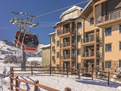 Photo for Wyndham Park City 2BR Ski in/out Resort - 1/23-26