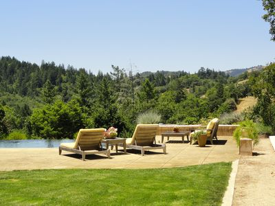 Sonoma foothills west of town - truly magnificent views