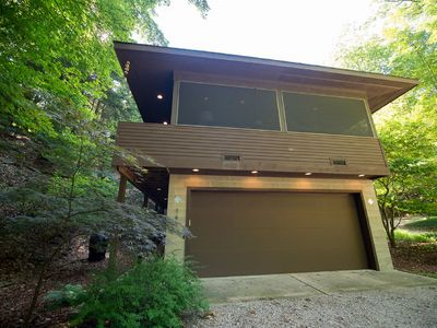Photo for 'River Groove'  A Modern Dwelling in the woods . Desirable location in Saugatuck