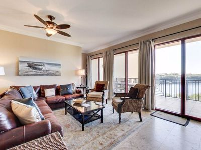 Photo for Gorgeous Luxury Condo with Gulf View! Unit #3118 Sanctuary by the Sea!