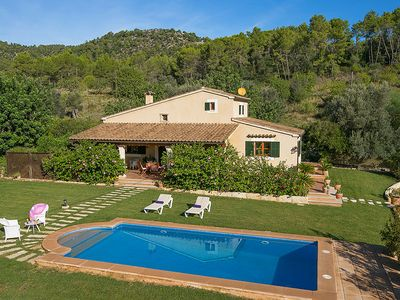 Photo for One bedroom Villa, sleeps 2 in Pollença with Pool, Air Con and WiFi