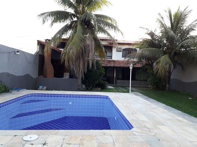 Photo for Comfortable beach house, large balcony with barbecue near the beach