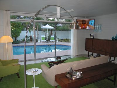 Photo for Mid Century Architectural Gem with Private Pool