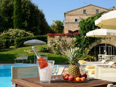 Photo for Luxury Surrounds You In This Elegant Eighteenth Century Holiday Villa