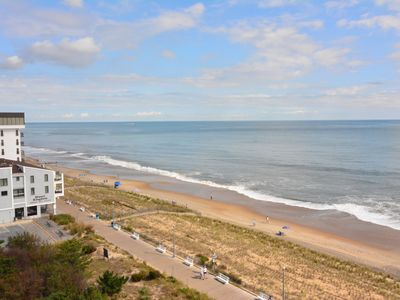 Photo for #802 Ocean Front Condo, 2 Bedroom, 2 Bath, One Virginia Avenue, Rehoboth Beach