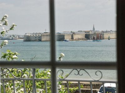 Photo for Spacious & bright house with sea view and on the citadel of Port Louis