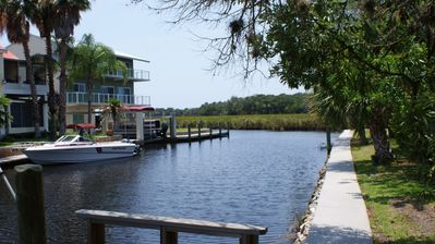 Deep Water canal overlooking sawgrass cove (South side of property)