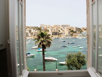 Photo for GetawaysMalta - Blue Harbour 2 Seafront 3-bedroom Apt with large back terrace