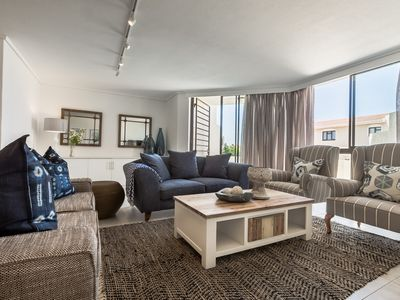 Photo for Stunning 3 Bedroom Sea view Duplex Apartment in the heart of Plettenberg Bay.