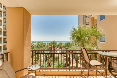 Westwinds 4719 - Balcony - Patio complete with table & chairs for brunch or lunch
