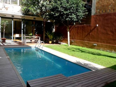 Photo for Apartment/ flat - BarcelonaHouse with garden