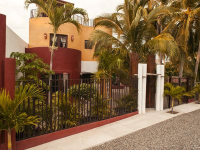 Photo for Stunning 3 bedroom home, rooftop bar with territorial view, 3 blocks from beach.