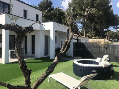Photo for Valras plage new 3Ch villa of 100m2 with Jacuzzi