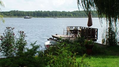 Photo for Cottage on the water in Heidesee OT Dolgenbrodt