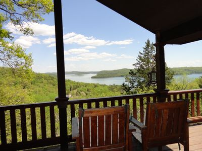 Photo for LILY'S Lake View Home -Very Private Setting, Huge Lakeview, Boat Launch Nearby