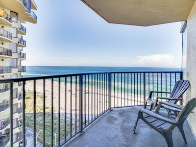 Photo for Spectacular oceanfront views, shared pool, walk to beach! Perfect for couples!