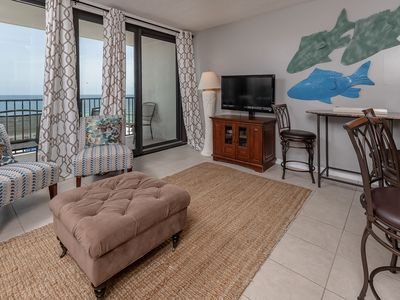 Photo for BEACH FRONT - 1 Bedroom - Island Winds