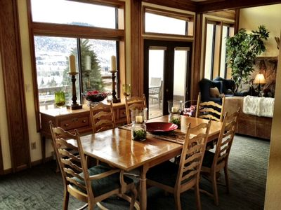 Photo for Spacious Townhome with WiFi, Sauna & Grand Views over Avon & Beaver Creek!
