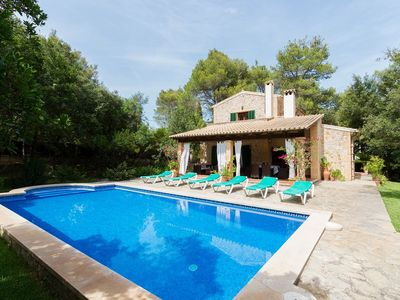 Photo for Quiet location with pool - Villa Can Joan