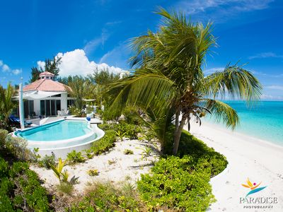 Photo for Private Villa, up to 7bdrm, W/Pool Directly on the World's Best Beach