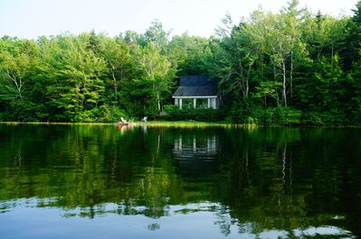 Rustic, secluded, and charming, Amanwana Cottage is a perfect getaway.