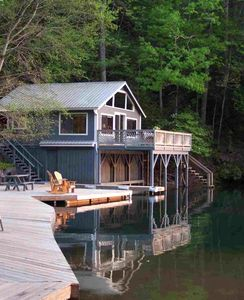 Photo for Papa Bobs Lakefront Cabin Mountain & Sunset View-Kayaks, Canoe-Pontoon Opt'l
