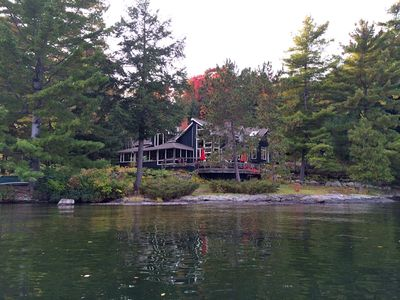 View of Cottage from the Lake